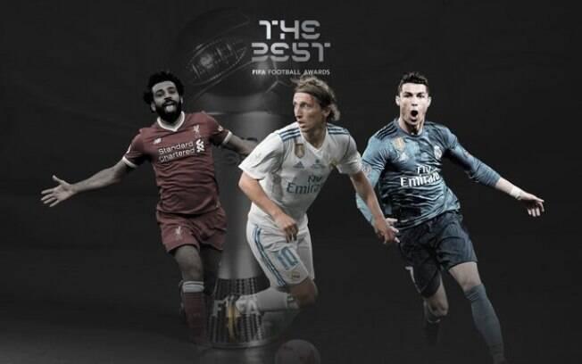 Fida indica Cristiano Ronaldo, Salah e Modric na premiação de melhor do mundo