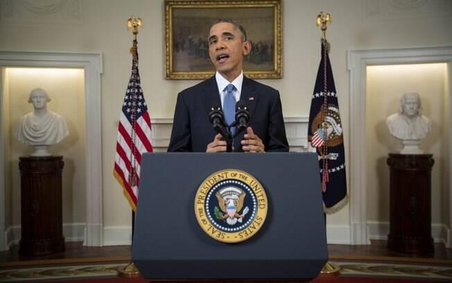 O presidente dos EUA, Barack Obama, anunciou nesta quarta-feira (17) uma série de mudanças nas relações entre o país e Cuba. Foto: AP Photo/Doug Mills, Pool