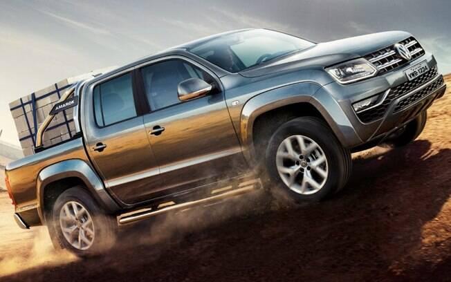São 280 litros a mais de caçamba, em comparação à rival japonesa, que divide a liderança com a Chevrolet S10