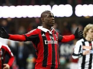 Balotelli é um dos destaques do Milan