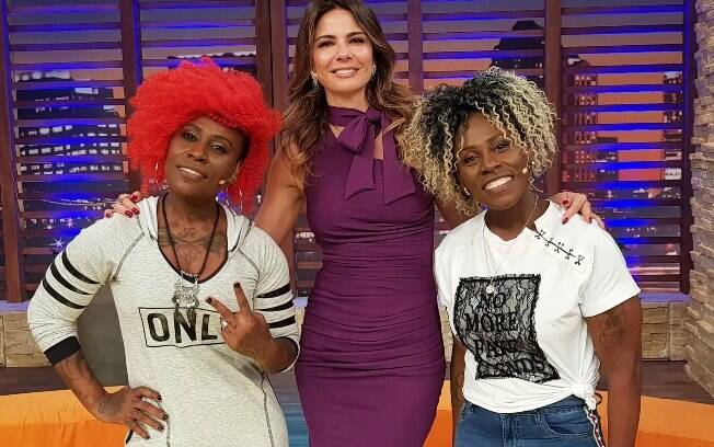 Pepê e Neném em entrevista para Luciana Gimenez