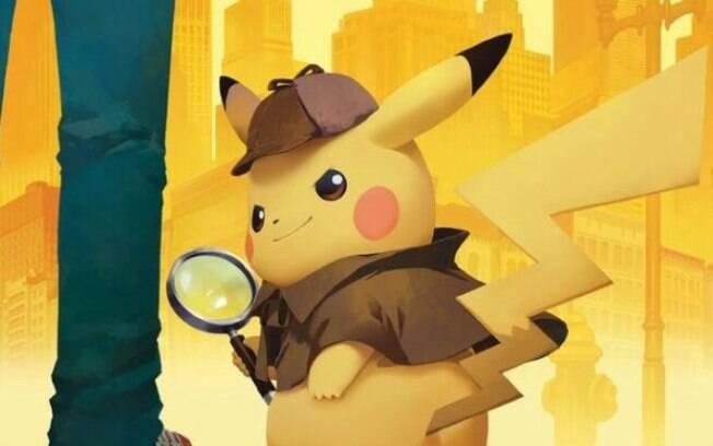 Pikachu está em