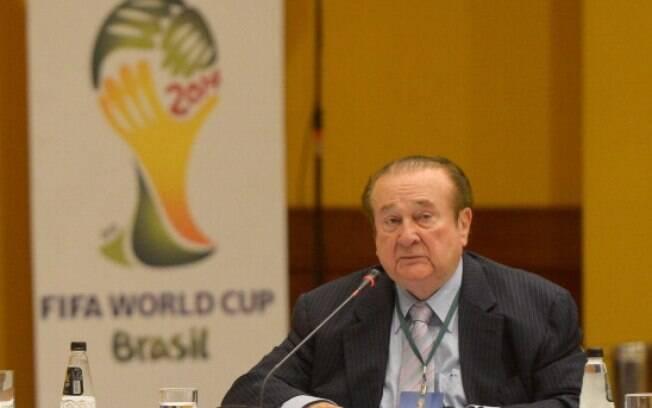 Nicolás Leoz, ex-presidente da Conmebol