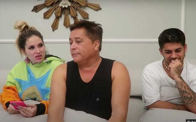 Leonardo conta que Zé Felipe largou a escola aos 14 anos