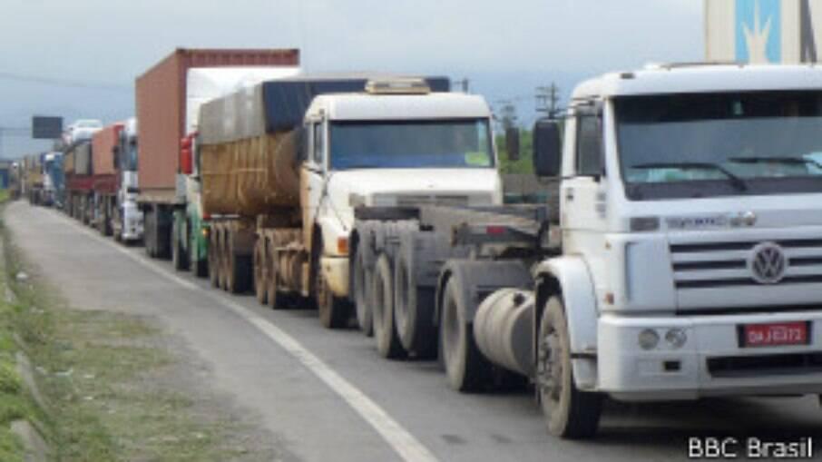 Greve dos caminhoneiros de 2018 foi responsável pelo bloqueio de estradas