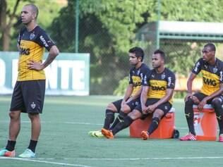 Jogadores do Galo se preparam para a estreia do Campeonato Brasileiro