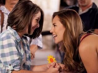 Em Amor à Vida, Paloma e Paulinha não sabem que são mãe e filha. A menina acredita que Bruno é seu pai biológico