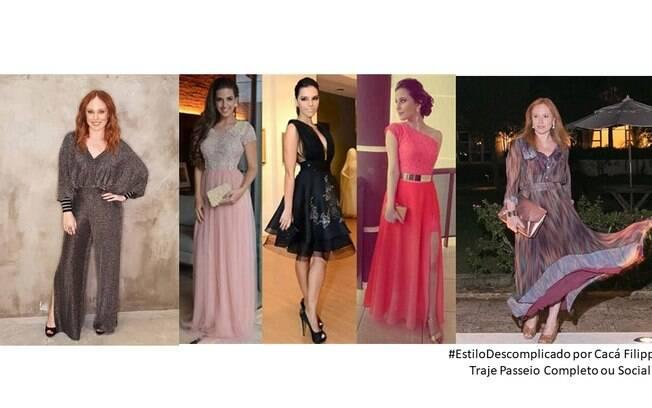 Inspire-se em algumas famosas trajando o dress code passeio completo