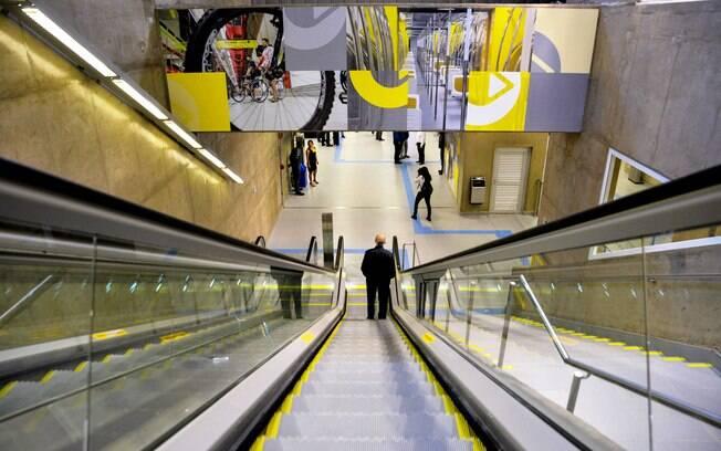 escalda metrô