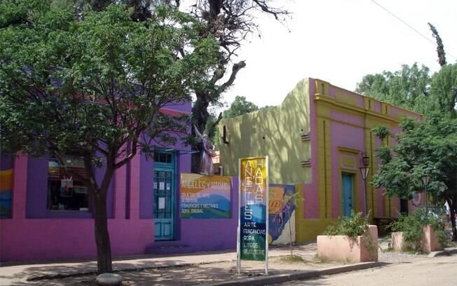 San Marco Sierras tem muitos artesãos e até o Museu do Hippie