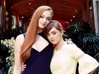 Sophie Turner e Maisie Williams, amigas desde o primeiro teste de elenco para a série