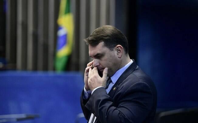 Senador Flávio Bolsonaro era deputado no Rio de Janeiro