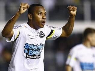 Robinho retomou bem a sua trajetória com a camisa do Santos