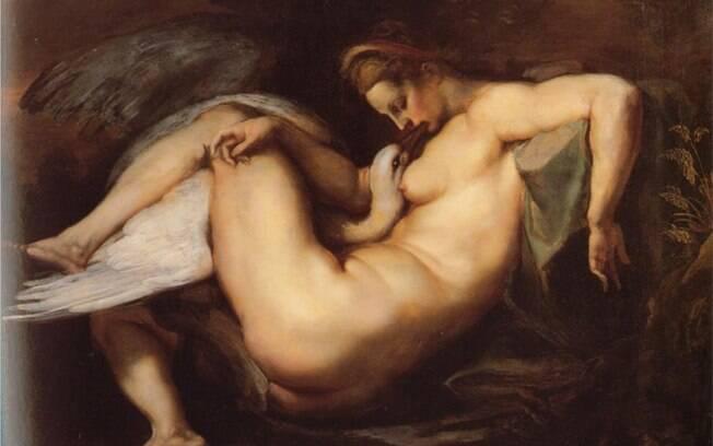 'Leda e o Cisne', por Peter Paul Rubens