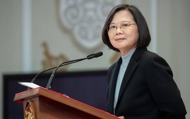 A popularidade da presidente Tsai Ing-wen cresceu entre os cidadãos de Taiwan, após boas respostas ao coronavírus