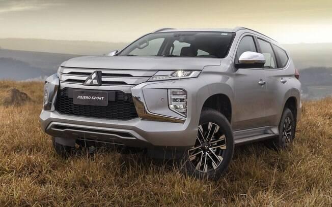 Mitsubishi Pajero Sport, na versão de topo HPE-S, torna-se o novo patamar de tecnologia que a marca é capaz de oferecer