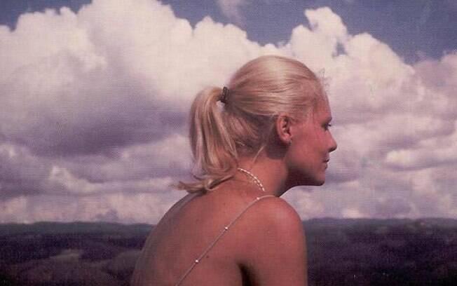Ana Maria Braga na década de 70 em foto postada por ela no Facebook