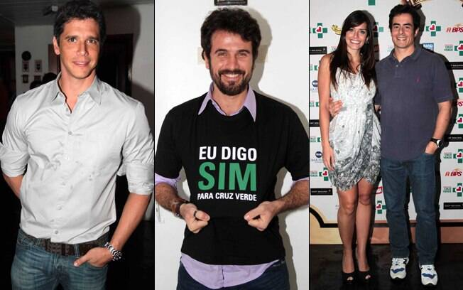 Márcio Garcia,Eriberto Leão e Talula