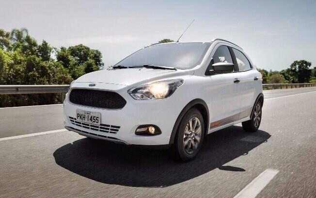 Recém-lançado, o Ford Ka Trail ficou R$ 500 mais caro e custa R$ 48.190