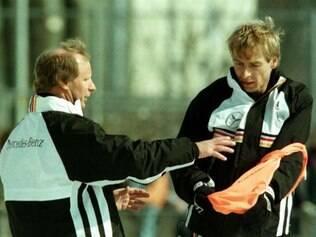 Vogts foi técnico de Klinsmann na seleção alemã