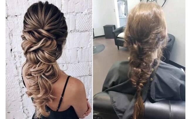 A noiva compartilhou sua frustração com o penteado no Facebook internautas não pouparam piadas com o cabelo