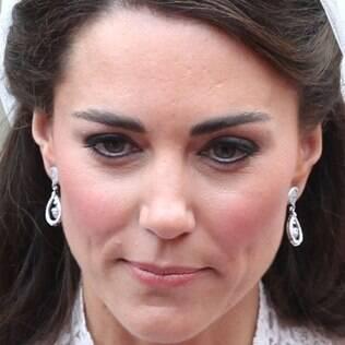 Kate prefere fazer a própria maquiagem