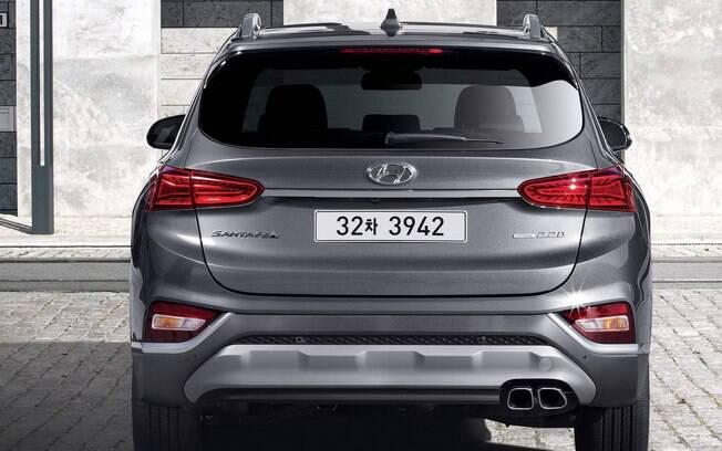 Hyundai Santa Fe. Foto: Divulgação