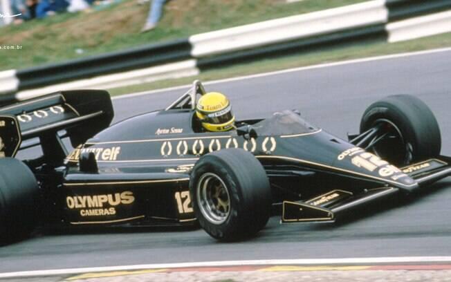 Capacete de Ayrton Senna usado no GP da Holanda em 1985 será leiloado