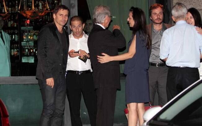 Murilo Rosa com os amigos