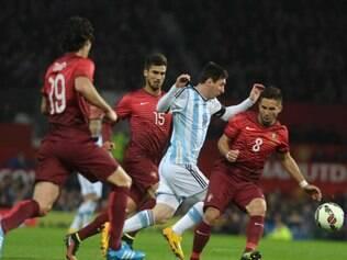 Equipe portuguesa derrotou a Argentina por 1 a 0