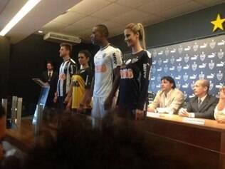 Nova camisa do Atlético foi divulgada na manhã desta segunda-feira pelo clube