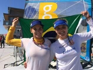 Martine Grael e Kahena evitaram que o Brasil encerrasse a competição sem conquistar uma medalha