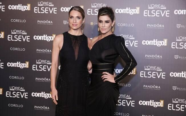 Letícia Spiller e Deborah Secco