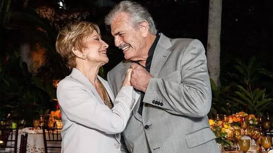 Glória Menezes e Tarcísio Meira