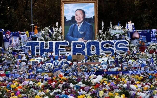 Vichai, ex-presidente do Leicester City, é muito querido pelos torcedores e será homenageado neste sábado