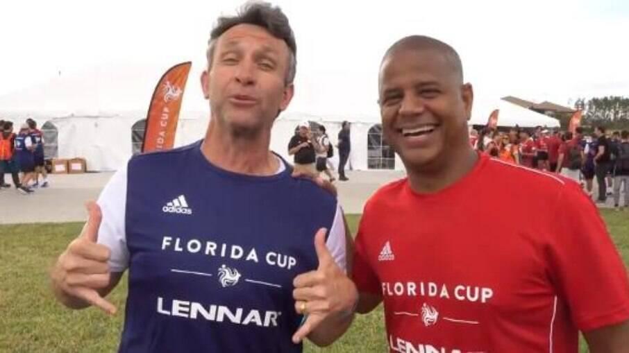 Neto e Marcelinho Carioca marcaram história no Corinthians