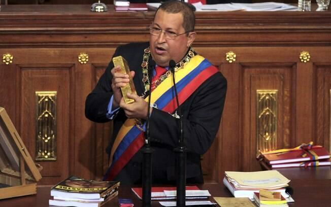 Hugo Chávez morreu há dois anos (arquivo)