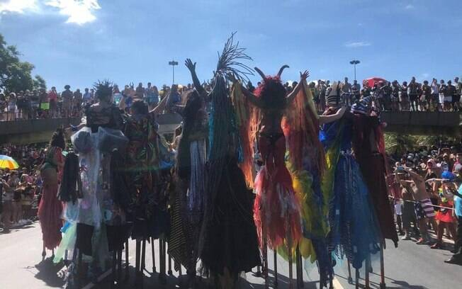 Carnaval da Orquestra Voadora, no Aterro do Flamengo