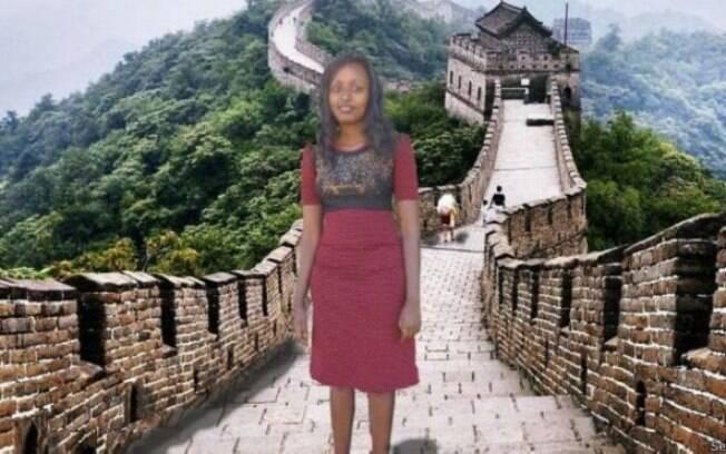 Um dos sonhos 'realizados' por Seve Gat: visitar a Muralha da China
