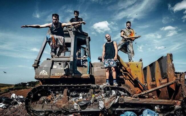 A banda Laranja Oliva lança o seu segundo disco intitulado