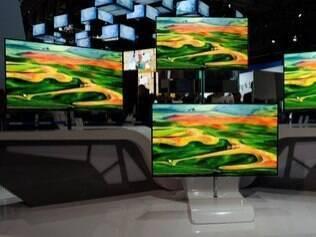 TVs da Samsung anunciadas na CES 2012 chegam primeiro a vizinhos do Brasil