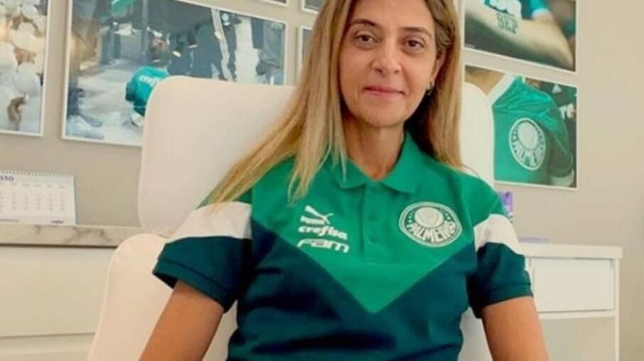 Leila Pereira afirma desejo de se candidatar à presidência do Palmeiras