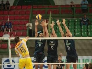 Duelo foi o primeiro jogo do Sada Cruzeiro diante de sua torcida