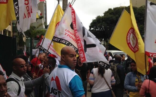 Protesto da CUT