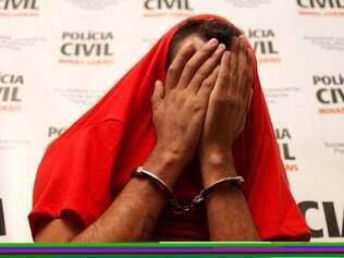 SUPER. BELO HORIZONTE, MG. Sergio Luiz de Souza, suspeito de varios estupros nas cidades de Ibirite, Igarape e Bicas.    FOTO: PEDRO GONTIJO / O TEMPO / 03.07.2014