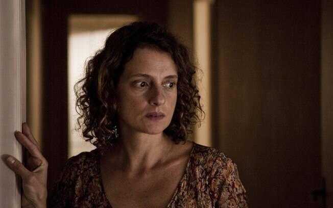 Denise Fraga em cena de 'Hoje', filme de Tata Amaral