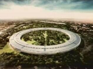 Projeto da nova sede da Apple em Cupertino
