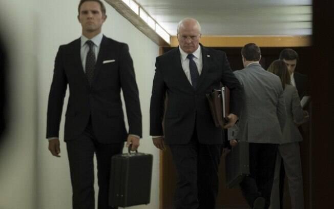 Christian Bale  concorre ao Oscar por sua atuação em