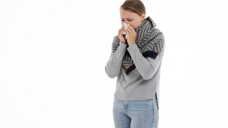 Tempo seco provoca reações alérgicas