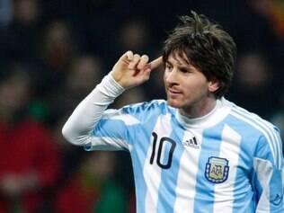 Messi não tem contato com a imprensa